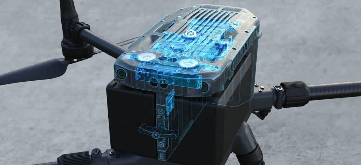 Matrice 300 RTK pričuvni sustavi