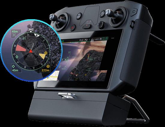 Matrice 300 RTK navigation display