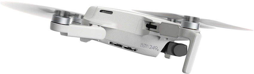 dji mini 2 ultralagan dron