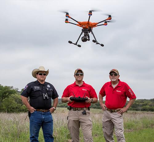 dron za policiju i vatrogasce